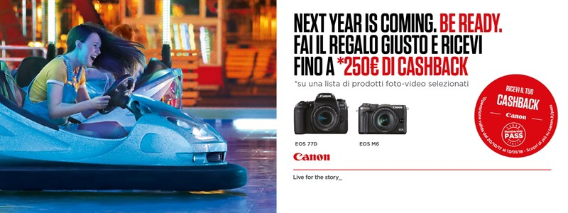 CANON WINTER CASH BACK